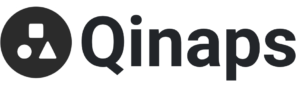 Qinaps logo with name