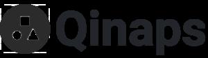 Qinaps logo with name